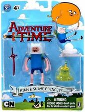 "Adventure Time Finn and Slime Princess 3"" figure set - New in stock"
