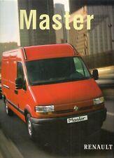 Renault Master 1998 Swedish Market Sales Brochure 2.5D 2.8 TD