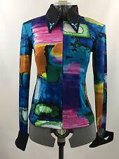 XXLarge Western Show Pleasure Rail Shirt Jacket Clothes Showmanship Horsemanship