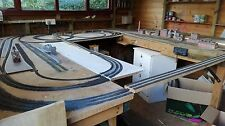 PECO N GAUGE TRACK LEFT HAND TURNOUT / POINTS WITH ELECTRIC MOTOR AND SWITCH