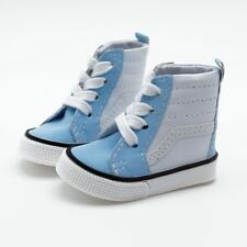 "White&Blue Canvas Shoes Sneaker For 1/4 17"" BJD MSD AOD AS DOLL G&D"