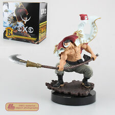 "Anime One Piece White Beard Pirates Edward Newgate 8"" PVC Statue Figure Toy Gift"