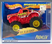 Hot Wheels 2001 Monster Truck Red Prowler Rev n Go Power New In Box