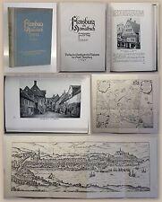 Voigt Flensburg ein Heimatbuch 1. Band 1929 Schleswig-Holstein Ortskunde xz