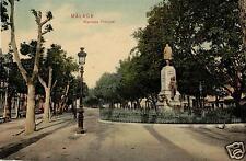 8761/ Foto AK, Malaga, Alameda Principale, ca. 1910