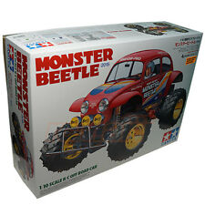 Tamiya 1:10 Monster Beetle 2015 RWD 2WD w/ECS EP Off Road RC Cars Kit #58618