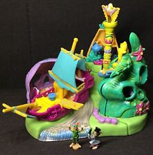 Polly Pocket Mini 1997-Disney 's peter pan neverland Playset-Bluebird Toys