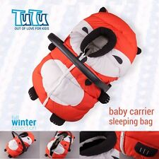 FOOTMUFF HOOD Warm Cover Sleeping Bag for Baby Infant Car Seat Carrier FOX