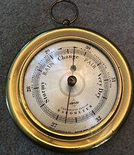 Swift and Anderson Brass Ships Compensated english Wall  Barometer Not Working ?