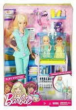 2016 Barbie BABY DOCTOR Playset with twin babies - BRAND NEW & NRFB!!