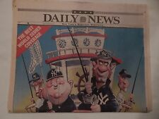 "DAILY NEWS SATURDAY, OCTOBER 18, 2003 ""THE BIG ONE WON'T GET AWAY"""