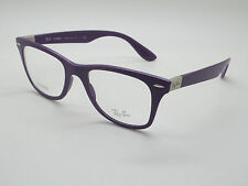 NEW Authentic Ray Ban RB 7034 5443 LITEFORCE Matte Purple 50mm RX Eyeglasses