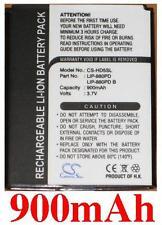 Batterie pour SONY NW-HD5Silver NW-HD5 LIP-880 LIP-880PD LIP-880PD-B 900mAh
