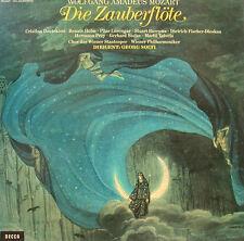 MOZART DIE ZAUBERFLÖTE DEUTEKOM HOLM LORENGAR BURROWS GEORG SOLTI 3-LP BOX d445
