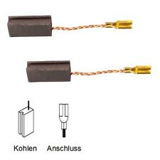 Moteur charbon schleifkohlen pour Bosch quitter pbh 220 re, quitter pbh 240 re - 5x8x17mm (2121)