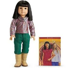 """New American Girl Doll Ivy wearing adorable outfit Retired NIB 18"""" adorable"""