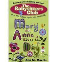 Mary Anne Saves the Day (New Babysitters Club 2010), Ann M. Martin, New Book