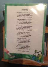 Liverpool Football Club Original Poetic Gift Framed Unique And Unusual