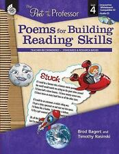 The Poet and the Professor Ser.: Poems for Building Reading Skills by Timothy...