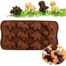 New Dinosaur Silicone Baking Tray Cake Chocolate Candy Muffin Cookie Mould Mold