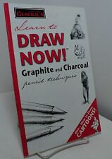 Learn to Draw Now ! by General Pencil Company - graphite and charcoal - cartoons