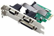 ACS Desktop PCI-E to COM & RS232 Expansion Ports Cards Serial and Parallel Ports