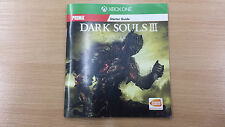Dark Souls III 3 Starter guide manual only from XBOX One edition New english