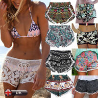 UK Women Ladies Sexy Summer Beach High Waist Hot Pants Sports Casual Shorts Lot