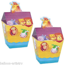 24 Noah's Ark Baby Shower REGALO Loot partito favore pails caselle