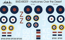 Hurricanes Over the Desert 1/48th scale decals