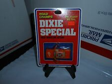 RARE VTG YATMING ROAD CHAMPS DIXIE SPECIAL DUKES OF HAZZARD GENERAL LEE CAR MOC