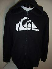 QUIKSILVER Large L hooded Sweatshirt Combine ship w/Ebay cart