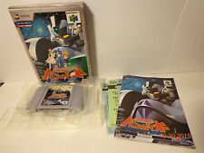 Bangai-O Bangaioh Rare Nintendo 64 Japanese Exclusive Complete In Box CIB Tested