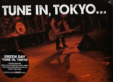 """GREEN DAY """"Tune in, Tokyo"""" 7 Track blue Vinyl Limited Edition 2001 Japan recorde"""