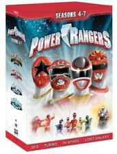 Power Rangers: Seasons 4-7 - 21 DISC SET (2013, REGION 1 DVD New)