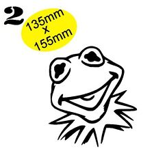 KIRMIT Muppets Gloss Vinyl Car Decal Scooter Graphic Wall Art VAN, BOAT, BIKE