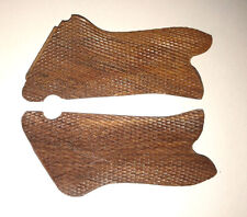 WWI WWII GERMAN P08 P-08 LUGER WOODEN PISTOL GRIPS REPLACEMENTS-PAIR