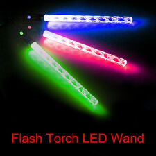 Color Changing LED Flash Light Glow Stick Magic Wand Flashing Torch Party Sticks