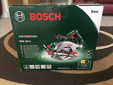 Bosch PKS 18 LI Cordless 18 V Lithium Ion Circular Saw Featuring Syneon Chip