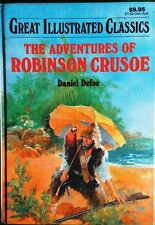 Adventures of Robinson Crusoe by Daniel Defoe_Great Illustrated English Classics