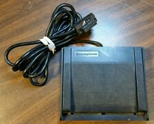 Vintage DICTAPHONE Dictation Transcriber Foot Pedal 3 Button Serial Interface