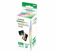 FUJIFILM Natura 1600 3 Rolls Fuji Fujicolor 35mm Color film 36 Exps 1600-R 36EX