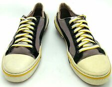 Puma Mihara Yasohiro My 41 Black White Yellow Leather Sneakers Men 9M Shoe MY-41