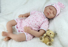 NEW Baby Doll Handmade Real Looking Sleeping Reborn Newborn Realistic 22'' UK