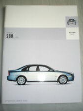 Volvo S80 range brochure 2004 2nd Edition USA market