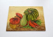KÜRBISSE Original Ölgemälde Ölbild Bild Gemälde Kürbis Pumpkin