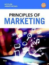 Principles of Marketing by Gary Armstrong and Philip Kotler (2014, Hardcover)