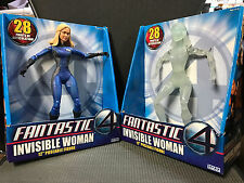 "Fantastic 4 Four - 12"" Invisible Woman - Variant and Regular Jessica Alba figure"