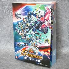 SD GUNDAM G GENERATION Over World Complete Game Guide Japan Book PSP BN2441*