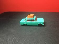 VINTAGE 1965 LESNEY MATCHBOX # 56-B FIAT 1500 W/ LUGGAGE RACK IN VNM CONDITION